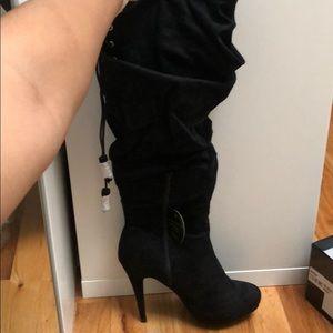 Thalia Boot Heels, wide calf